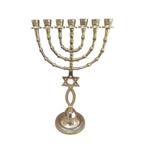 Messianic Menorah 15 Inch