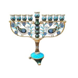 Hanukkah Menorah Decorative Design